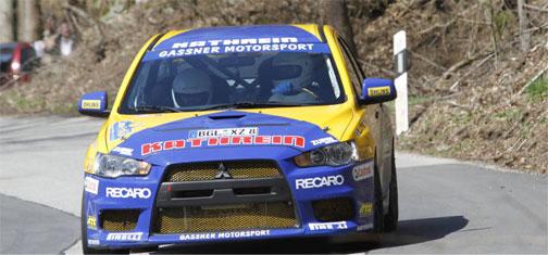 Ga&szlig siegt bei Oster-Rallye 2010