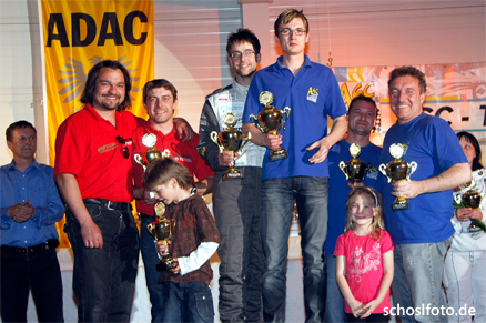 Oster-Rallye 2009 - Podium